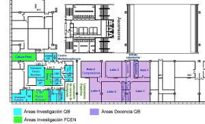 Mapa de QB - 2do piso
